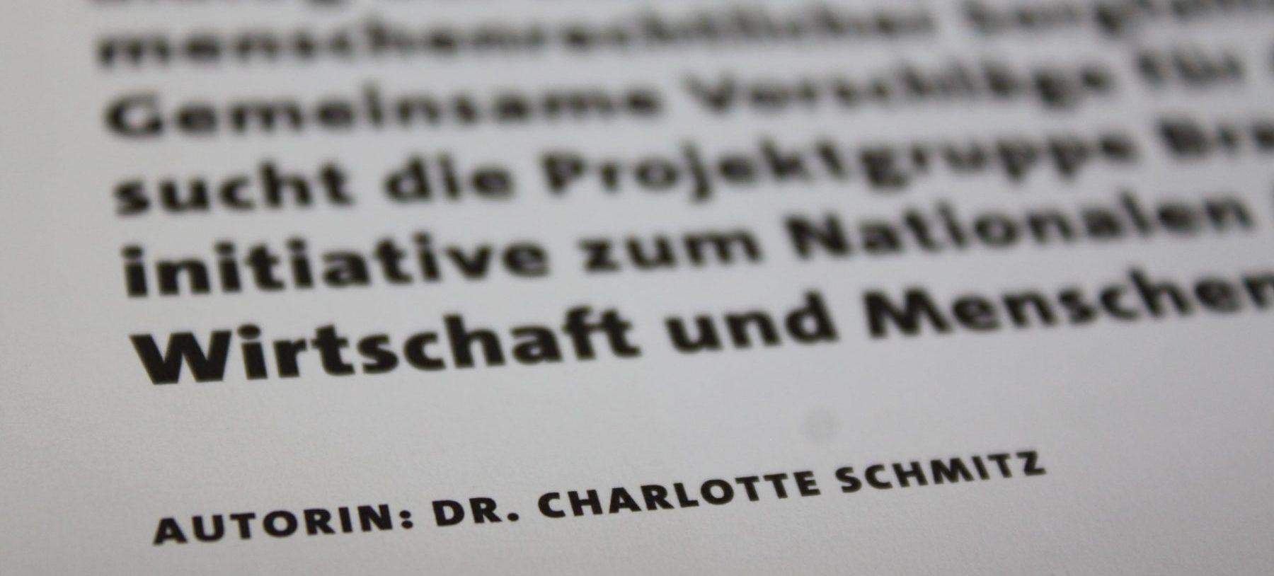 Dr. Charlotte Schmitz